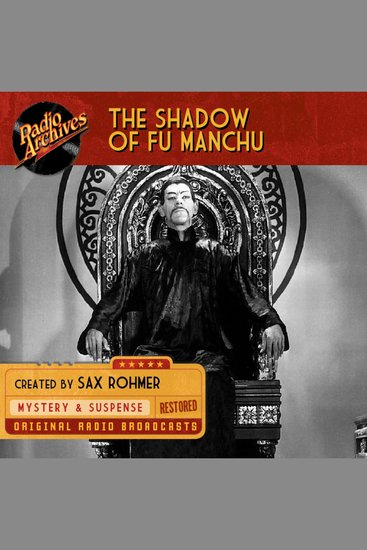 The Shadow of Fu Manchu - cover