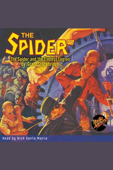 The Spider and the Eyeless Legion - cover