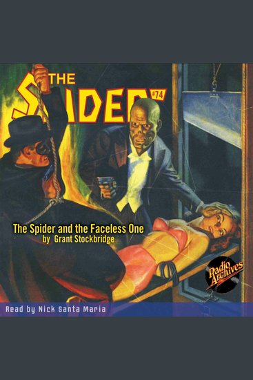 The Spider and the Faceless One - cover