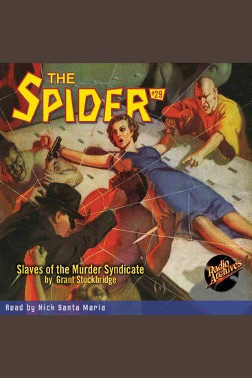 The Slaves of the Murder Syndicate - cover