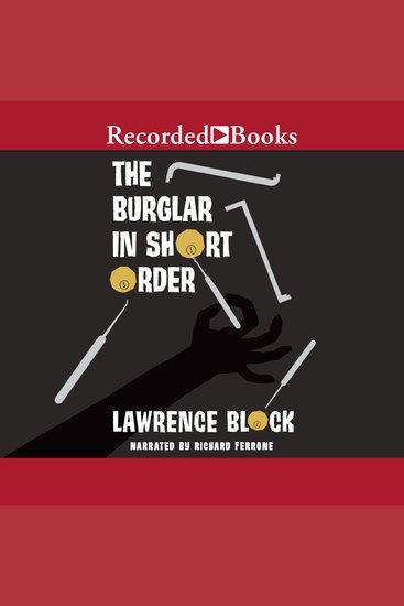 The Burglar in Short Order - cover