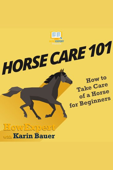 Horse Care 101 - How to Take Care of a Horse for Beginners - cover