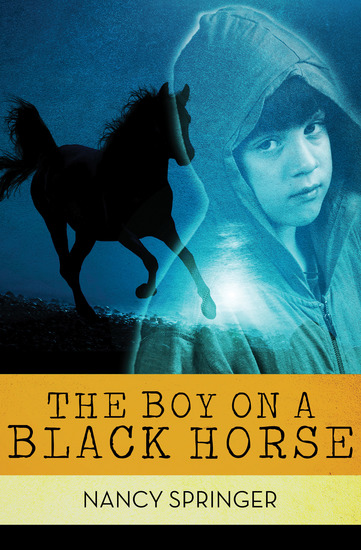 The Boy on a Black Horse - cover