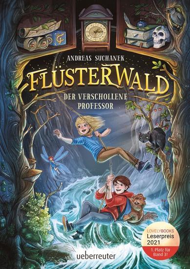 Flüsterwald - Der verschollene Professor - cover