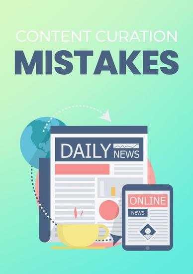 Content Curation Mistakes - cover