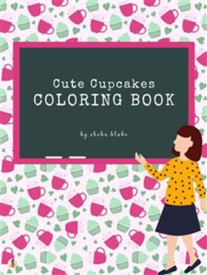 Cute Cupcakes Coloring Book for Kids Ages 3+ (Printable Version) - cover