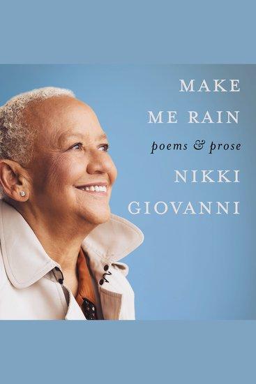 Make Me Rain - Poems & Prose - cover