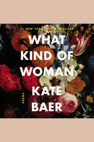 What Kind of Woman - Poems - cover