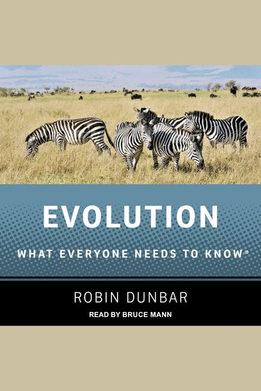 Evolution - What Everyone Needs to Know - cover