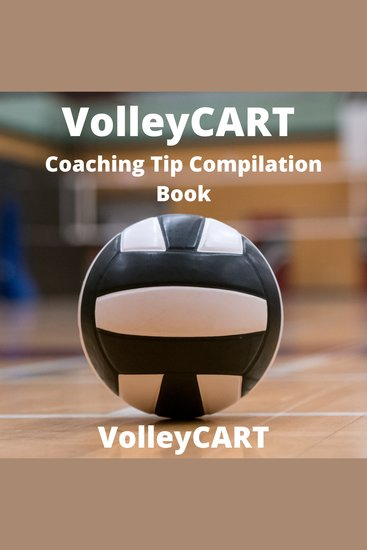 VolleyCART Coaching Tip Compilation Book - cover