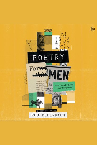 Poetry For Men - (who thought they'd never like poetry) - cover