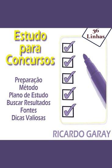 Estudo para Concursos - cover