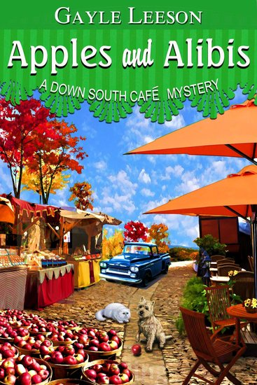 Apples and Alibis - A Down South Cafe Mystery - cover