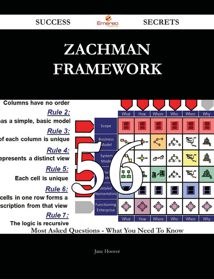 Zachman Framework 56 Success Secrets - 56 Most Asked Questions On Zachman Framework - What You Need To Know - cover