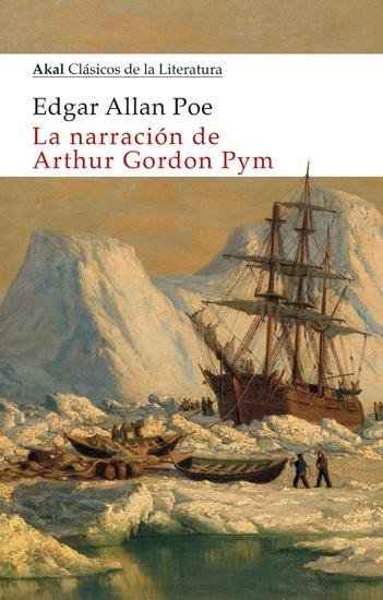 La narración de Arthur Gordon Pym - cover