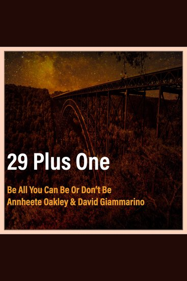 29 Plus One - Finn's Story Be All You Can Be Or Don't Be - cover