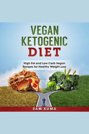 Vegan Ketogenic Diet - High Fat and Low Carb Vegan Recipes for Healthy Weight Loss - cover