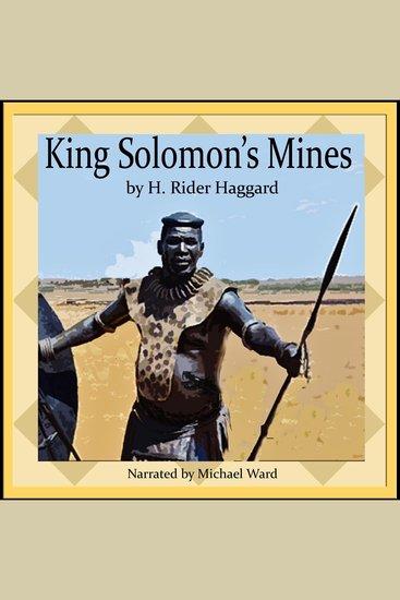 King Solomons Mines - cover