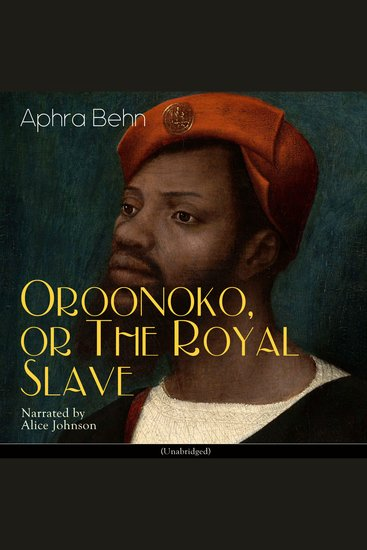 Oroonoko or the Royal Slave - cover