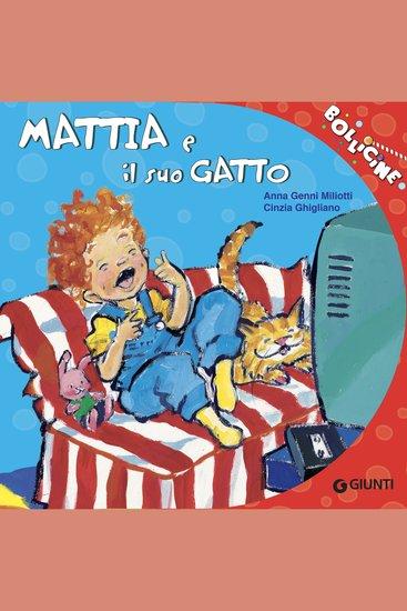 Mattia e il suo gatto - cover