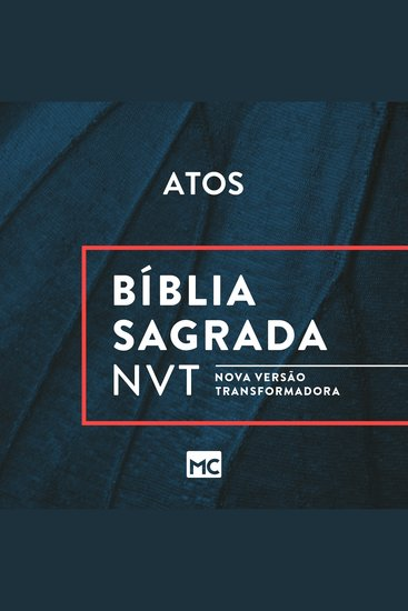 Bíblia NVT - Atos - cover