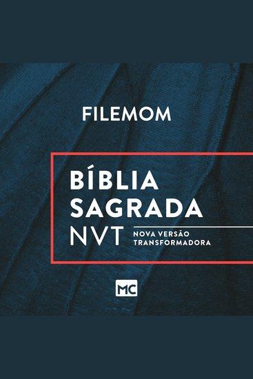 Bíblia NVT - Filemom - cover