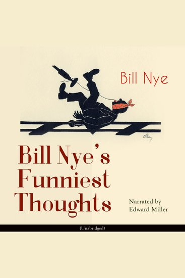 Bill Nye's Funniest Thoughts - cover