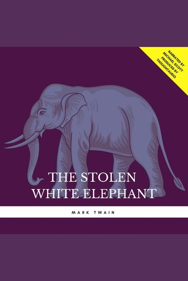 The Stolen White Elephant - cover