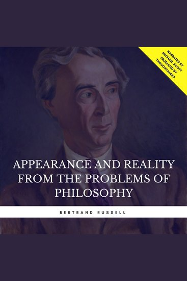 Appearance and Reality from the Problems of Philosophy - cover