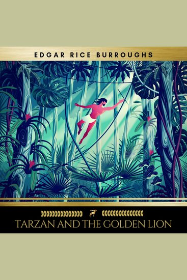 Tarzan and the Golden Lion - cover