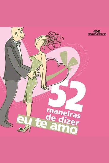 """52 maneiras de dizer """"Eu te Amo"""" - cover"""