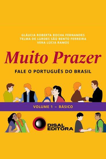 Muito Prazer - Volume 1 - Básico - Fale o português do Brasil - cover