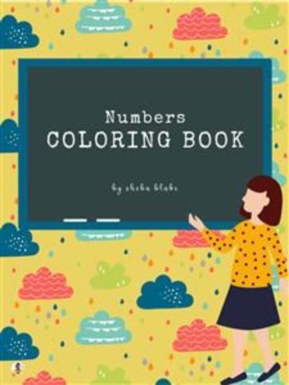 Numbers Coloring Book for Kids Ages 3+ (Printable Version) - cover