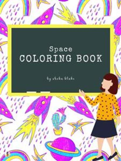 Space Coloring Book for Kids Ages 6+ (Printable Version) - cover