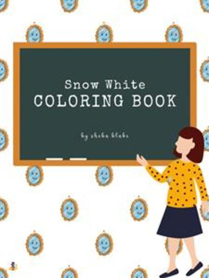 Snow White Coloring Book for Kids Ages 3+ (Printable Version) - cover