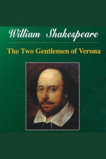 Shakespeare - Two Gentlemen of Verona - cover