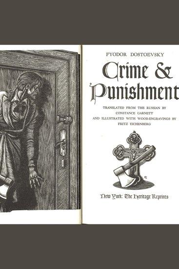 Crime and Punishment - Feodor Dostoyevsky - cover