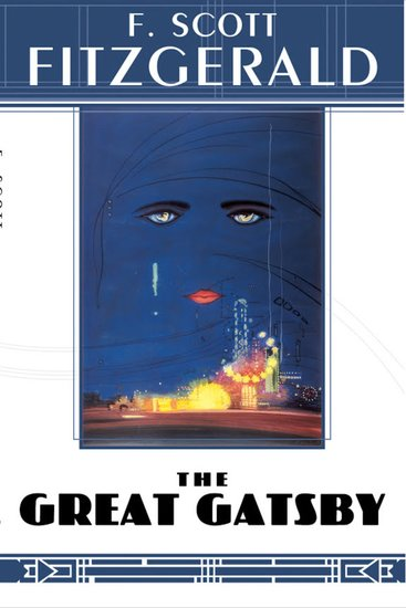Great Gatsby The - F Scott Fitzgerald - cover