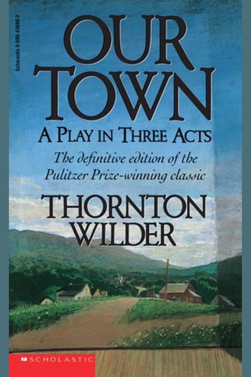 Our Town - Thornton Wilder - cover