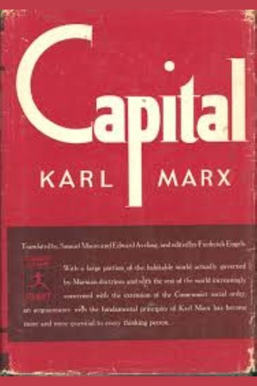 Das Kapital - Karl Marx - cover