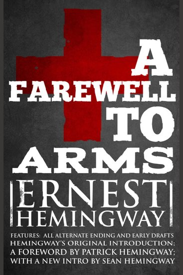 Farewell to Arms A - Ernest Hemingway - cover