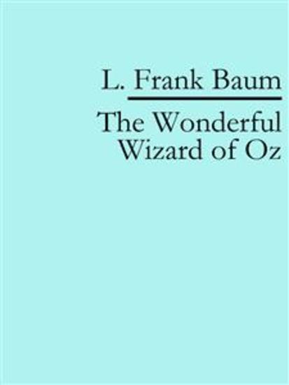 The Wonderful Wizard of Oz - cover