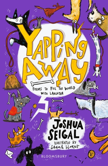 Yapping Away - Poems by Joshua Seigal - cover