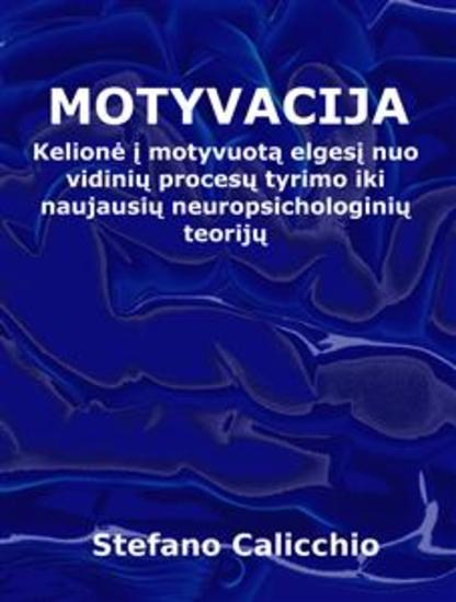 Motyvacija - Kelionė į motyvuotą elgesį nuo vidinių procesų tyrimo iki naujausių neuropsichologinių teorijų - cover