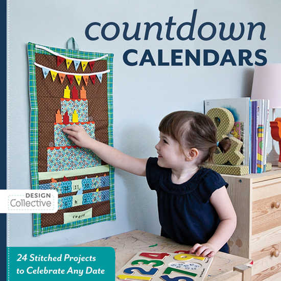 Countdown Calendars - 24 Stitched Projects to Celebrate Any Date - cover