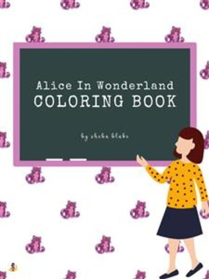 Alice in Wonderland Coloring Book for Kids Ages 3+ (Printable Version) - cover