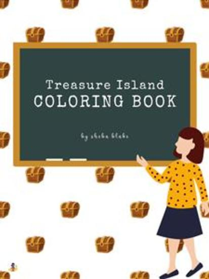 Treasure Island Coloring Book for Kids Ages 3+ (Printable Version) - cover