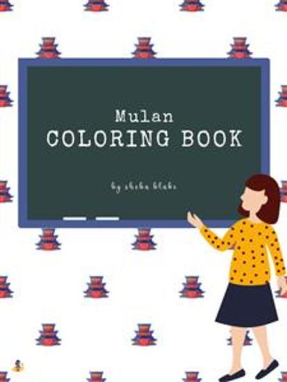 Mulan Coloring Book for Kids Ages 3+ (Printable Version) - cover