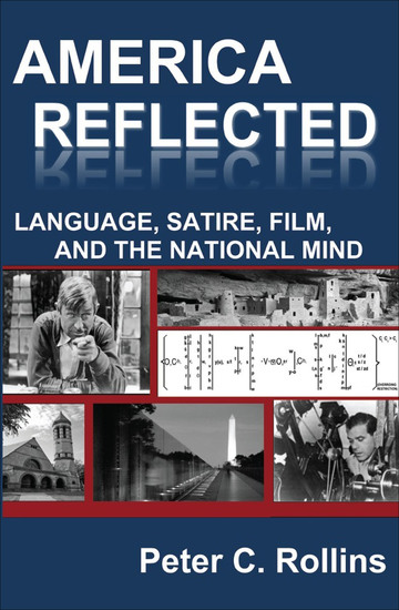 America Reflected - Language Satire Film and the National Mind - cover