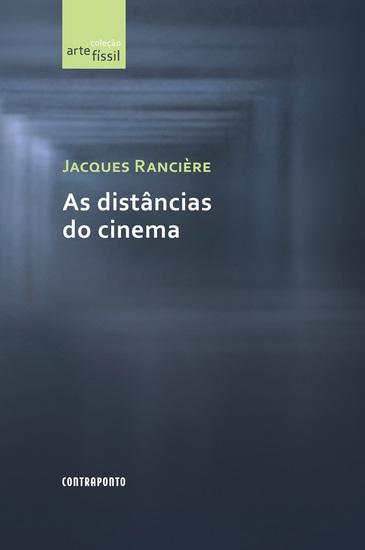 As distâncias do cinema - cover